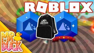 HOW TO GET JURASSIC WORLD BACKPACK - ROBLOX CREATOR CHALLENGE LESSON 3