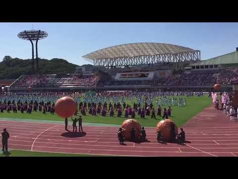 水樹奈々さんが国体会場にて生歌でテーマソングを披露