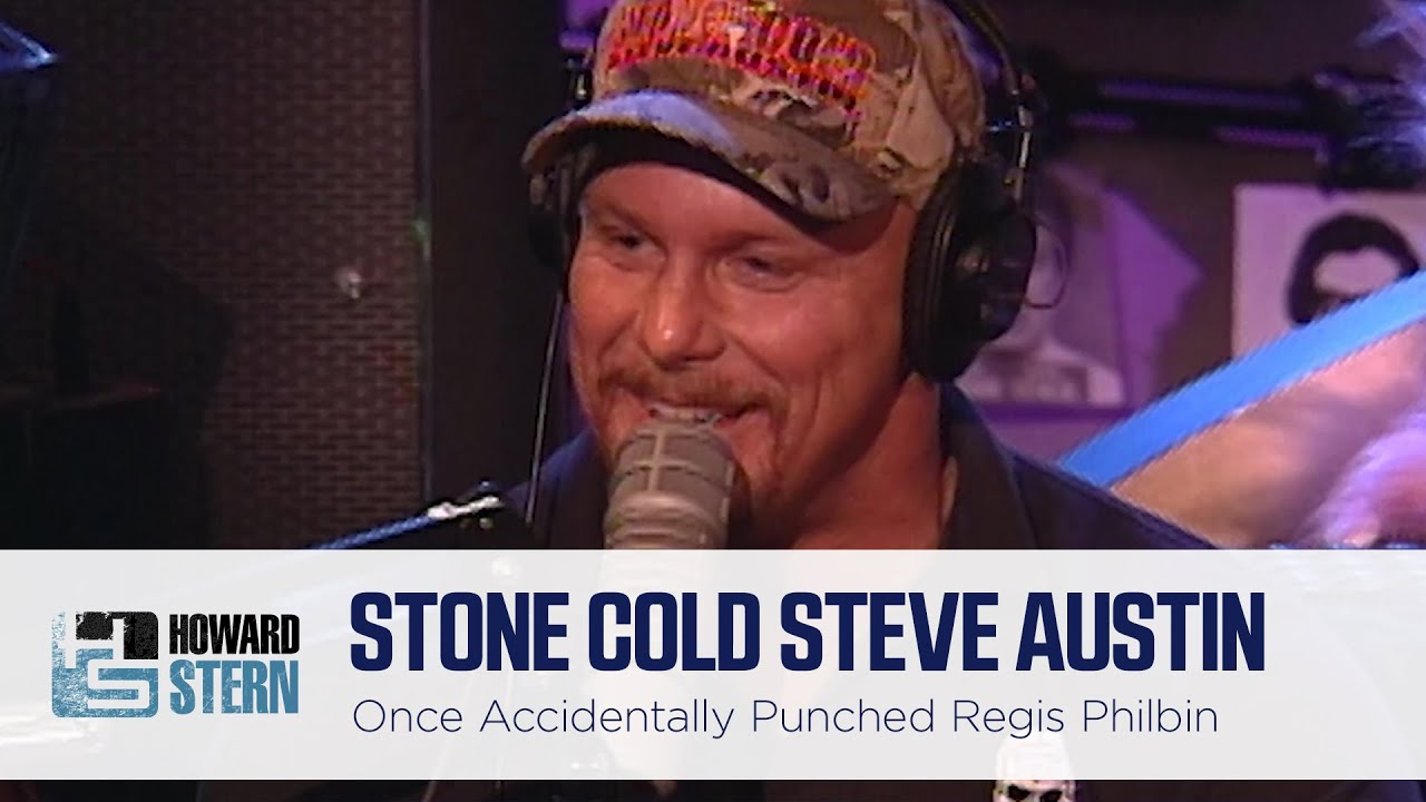 Stone Cold Steve Austin Accidentally Punched Regis Philbin in the Nose (1999)