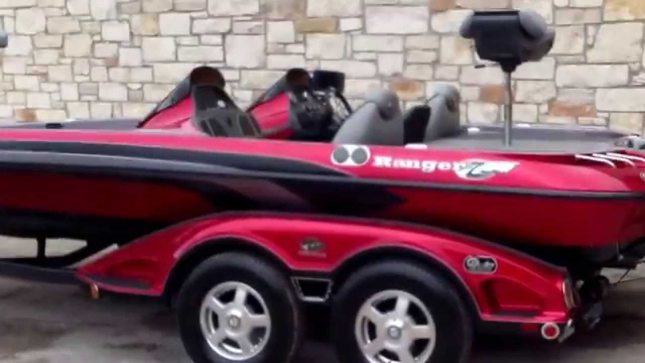 2008 ranger z21 comanche youtube for Buy bass boat without motor