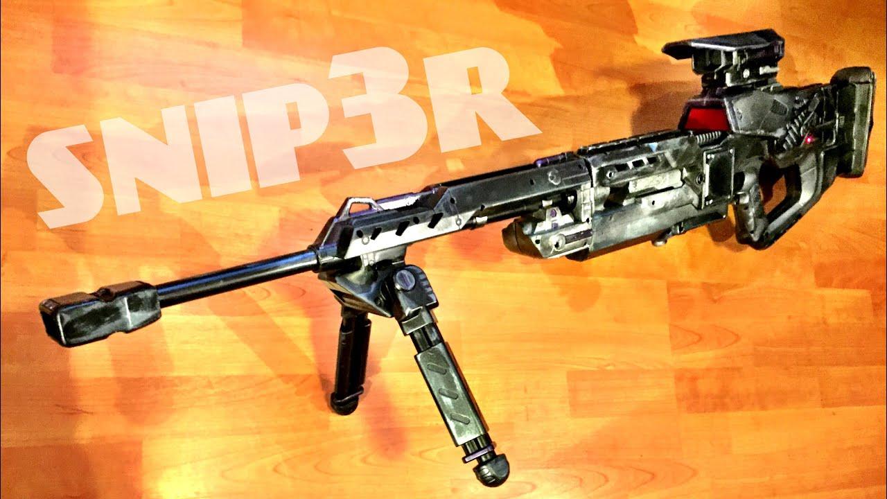 [ MUNITY] Nerf Sniper Rifle