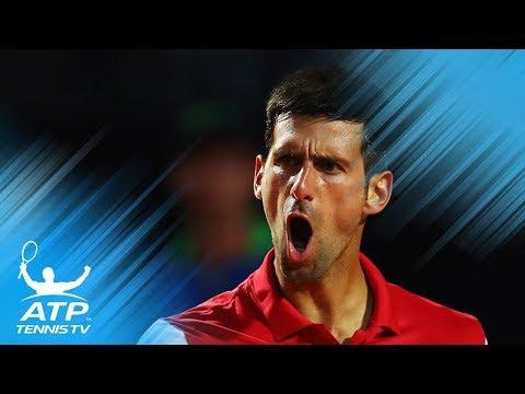 Novak Djokovic Best Shots at Rolex Shanghai Masters!