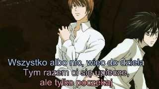 [Polish sub] Death Note musical NY - Stalemate (Misa, L, Light)