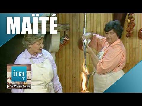 recette-:-crépinettes-aux-foie-gras-et-dinde-aux-cailles-de-maïté- -archive-ina