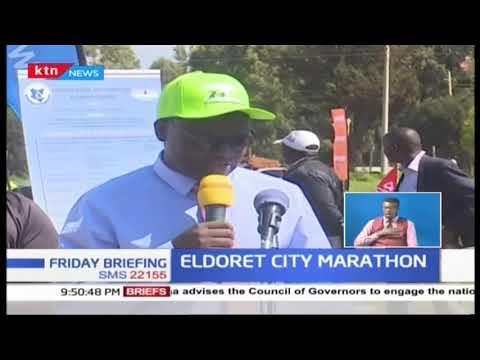 Eldoret City Marathon saw the planting of 750,000 trees