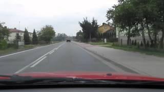 Goniący, czas pracy, kierowców ciężarówek. Uznanie dla kierowcy golfa! (HD)