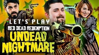 COWBOYS VS ZOMBIES - Red Dead Redemption Undead Nightmare Let's Play