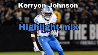 Kerryon Johnson mix|Bounce Back|