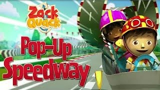 Zack and Quack Pop Up Speedway!   Nick Jr game