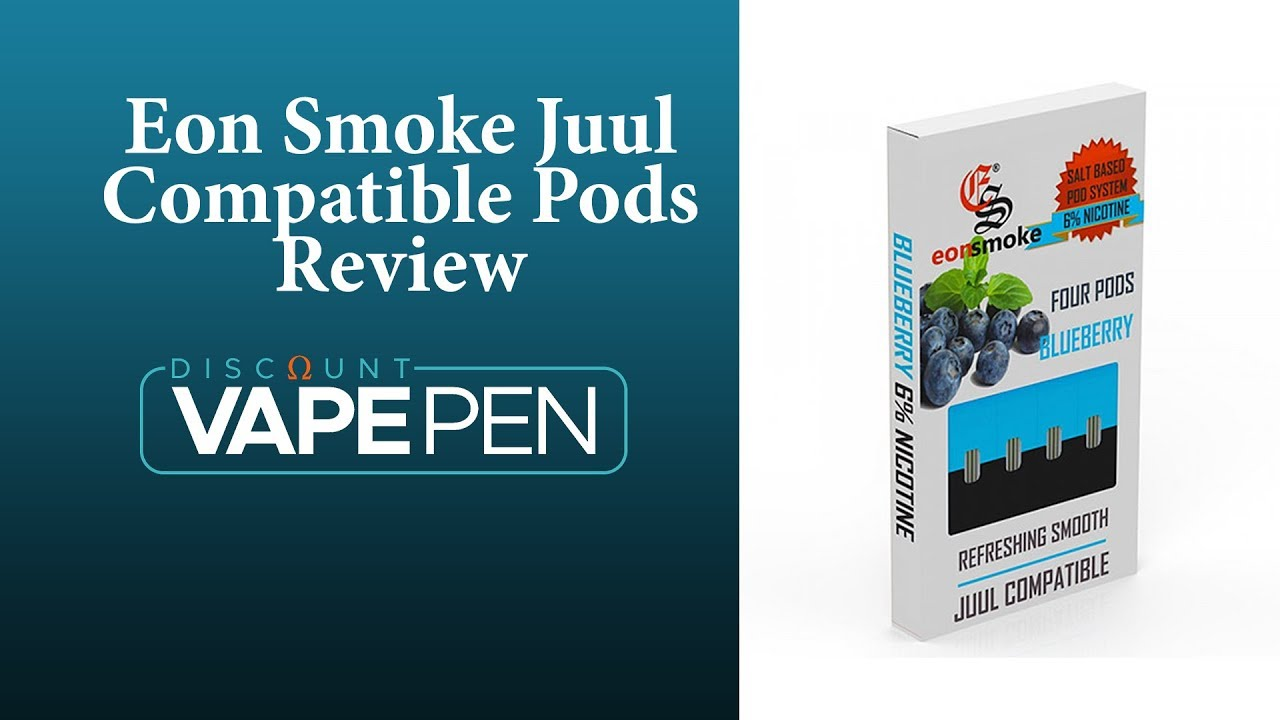 Eon Smoke Blueberry And Silky Strawberry Juul Compatible Pods Review