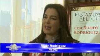RUDY RODRÍGUEZ en la Presentación del Libro EL CAMINO A LA FELICIDAD