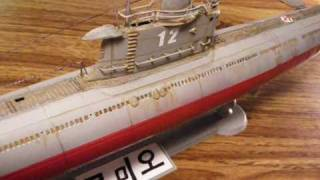 North Korean submarine RC model(ПЗС-50,로미오,33型Romeo)