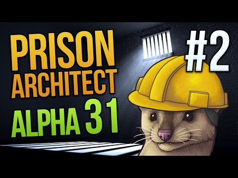 SOLITARY - Prison Architect Alpha 31 - Part 2 ★ Let's Play Prison Architect
