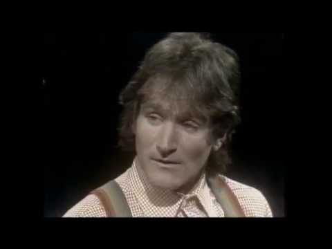 Robin Williams speaks to Peter Gzowski