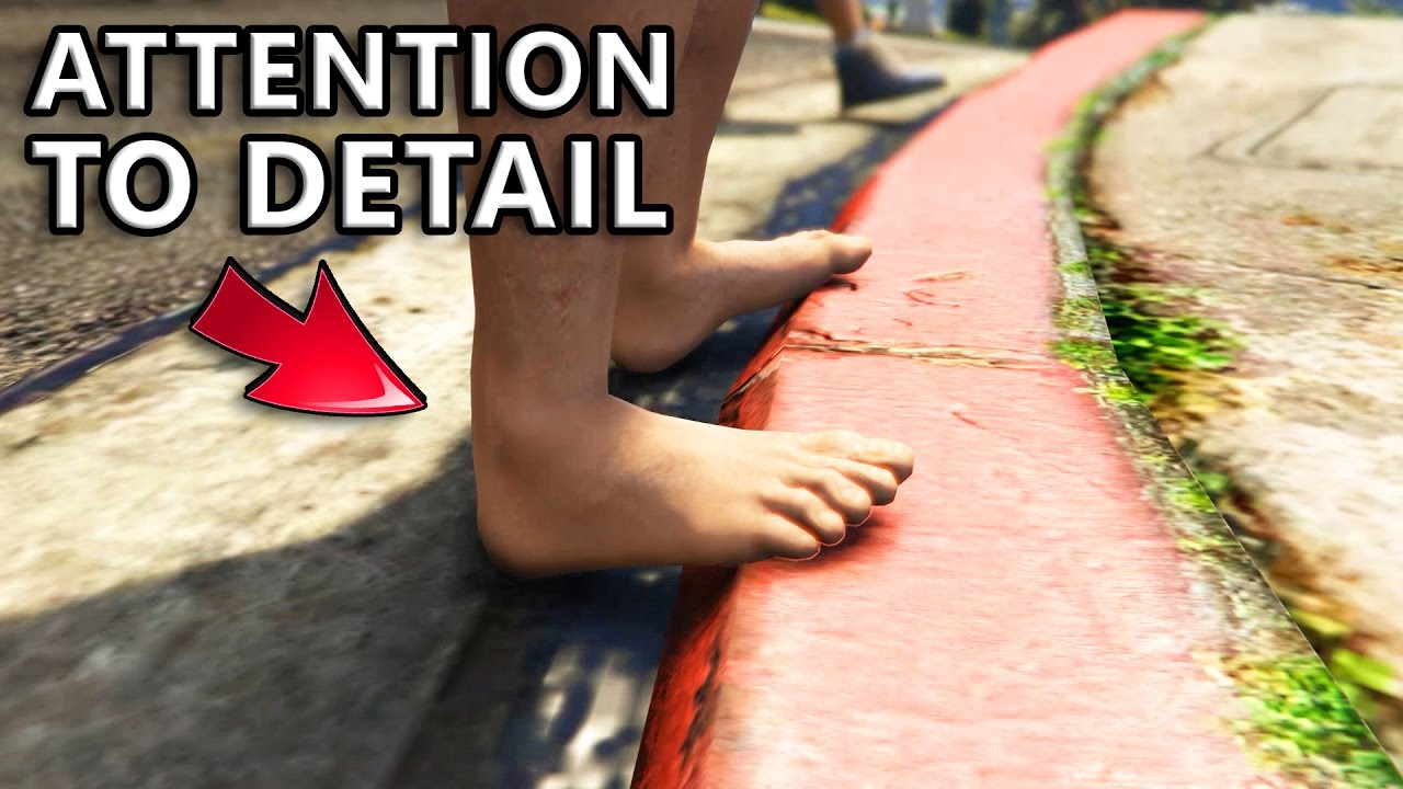gta v attention to detail part  gta v attention to detail part 3
