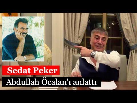 Sedat Peker, Abdullah Öcalan'ı anlattı