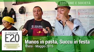 Manos in pasta- Thiesi 2015