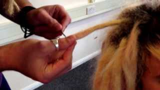 Tightening Dreadlocks and Blunted Tips - Quick and Easy