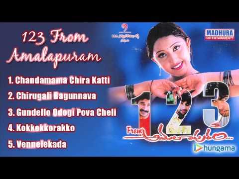 1 2 3 From Amalapuram  Telugu Jukebox   Saandeep , Teena Kumar