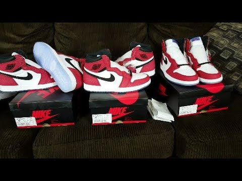 798606d21f828d Nike Air Jordan 1 Retro High OG Origin Story Spiderman Spider Verse Review!