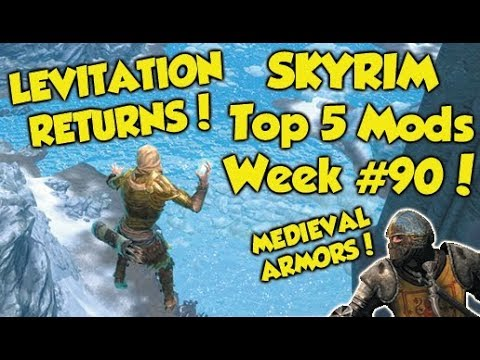 Skyrim Remastered Top 5 Mods of the Week #90 (Xbox One Mods) thumbnail