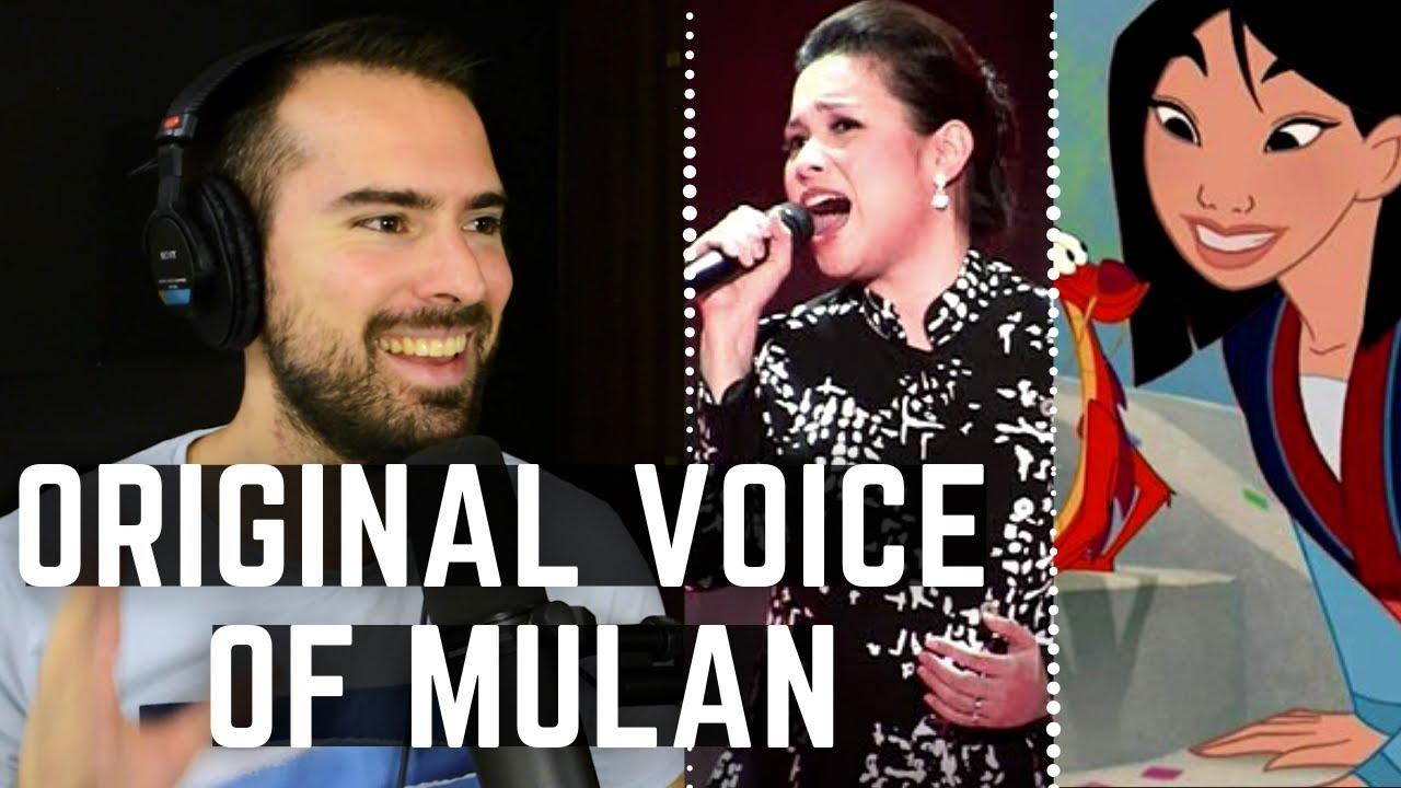 Mulan ORIGINAL Singer Live - Vocal Coach Reacts LEA Salonga