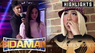 Vice gets affected by BidaMan Ron and Jackque's acting | It's Showtime BidaMan