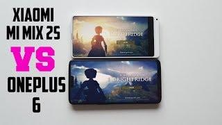 Xiaomi Mi Mix 2s vs OnePlus 6 Gaming comparison/CPU Throttle test/ Heating test Snapdragon 845