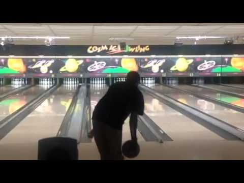James Metcalf bowling a 300