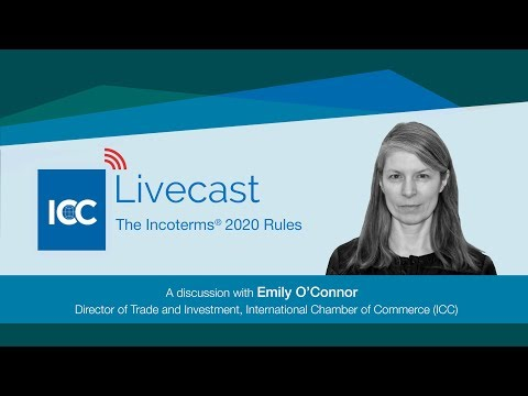 ICC Livecast - Drafting The Incoterms® 2020 Rules
