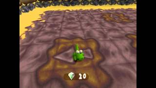 Croc 2 Kingdom of the Gobbos [PSX] 100% - Level 4-3 Bride of the Dungeon of Defright!