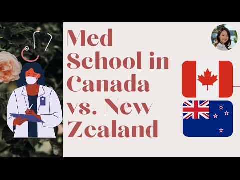 Medical School In Canada Vs New Zealand Ft TheONGWay