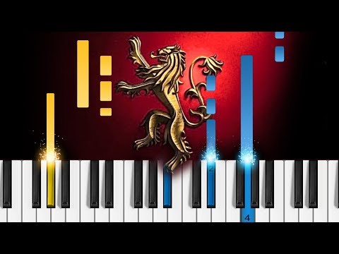 Game of Thrones - The Rains of Castamere - Piano Tutorial & Sheets thumbnail