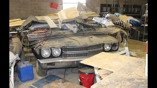 THEY'RE STILL OUT THERE!!! Old Warehouse Discovered Hiding A 1970 LS6 Chevelle Over 45 Years