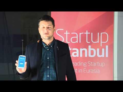 Startup Istanbul 2015 - Barak Finkelstein (Founder of Waveit) Interview