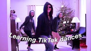 trying to learn TikTok dances   vlogmas
