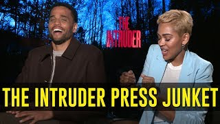 Michael Ealy, Meagan Good & Deon Taylor On Their Movie, 'The Intruder'