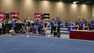 Andrea Li - Floor Exercise - 2016 Women's Junior Olympic Championships