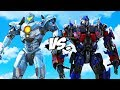 PACIFIC RIM vs TRANSFORMERS - Optimus Prime VS Gipsy Avenger