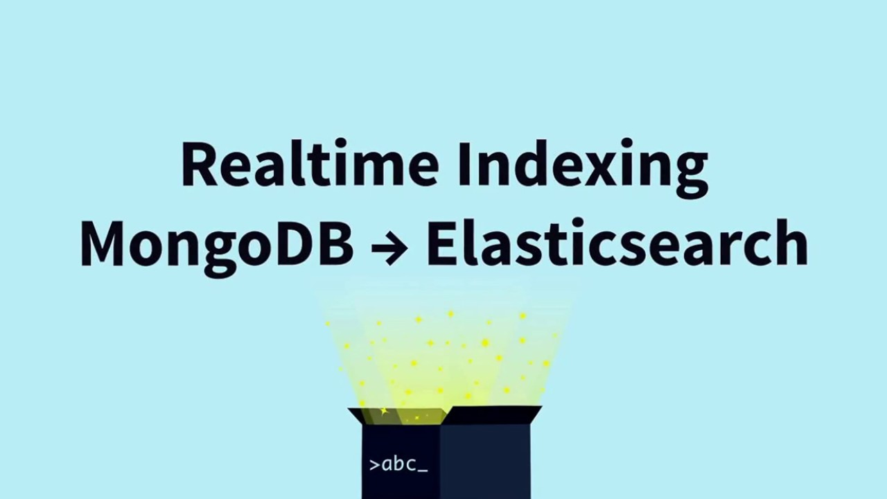 Importing MongoDB data to Elasticsearch in Realtime