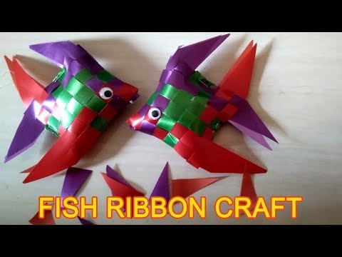 How To Make Fish Ribbon Craft
