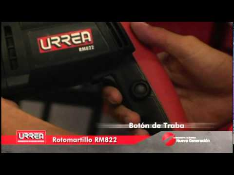 ROTOMARTILLO ELECTRONEUMATICO SDS PLUS 2.2 JOULES URREA thumbnail