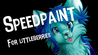 Speedpaint: Gift for LittleBerries/Cutty12342