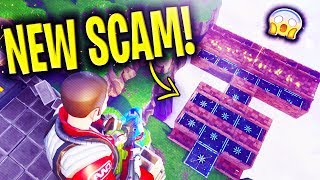*NEW SCAM* Disappearing Base Scam BEAWARE! Scammer Gets EXPOSED In Fortnite Save The World
