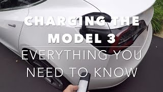 Model 3 Comprehensive charging tutorial.