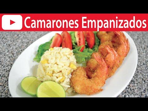 CAMARONES EMPANIZADOS   Vicky Receta Facil