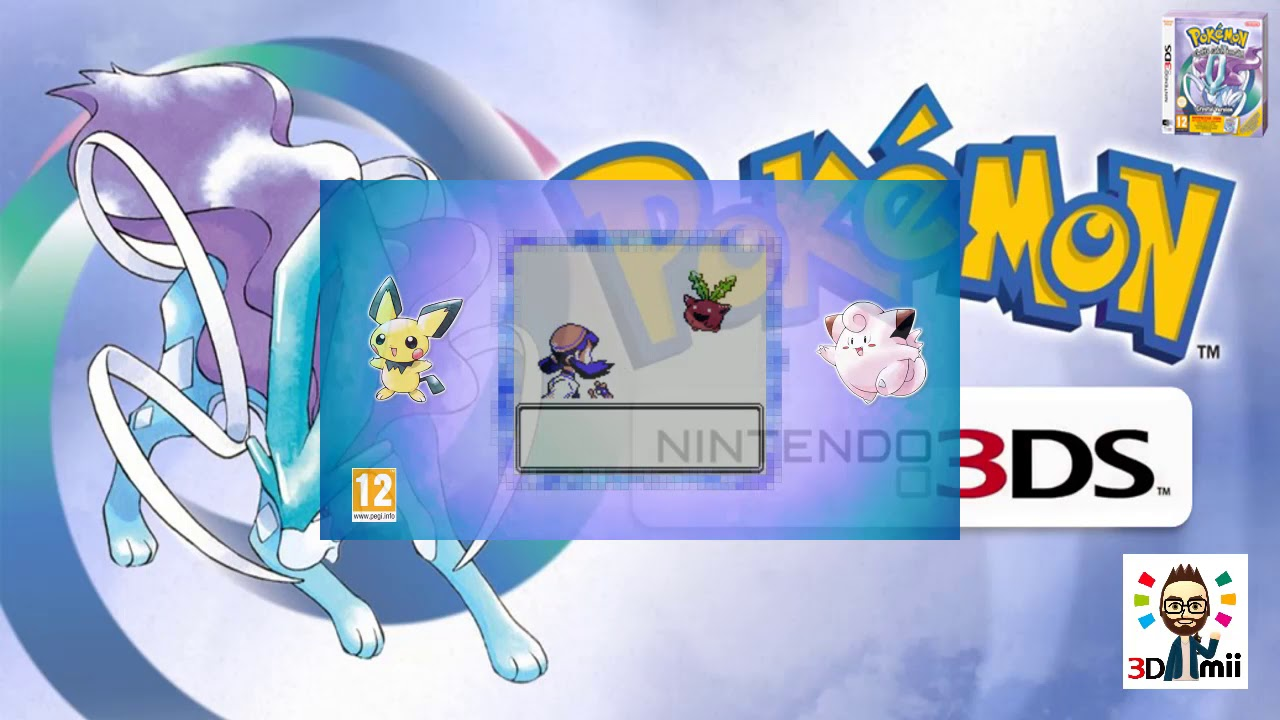 Descargar Pokémon Edición Cristal Nintendo 3ds Cia