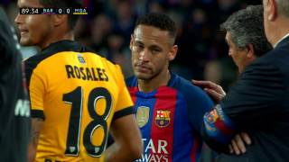 Neymar vs Malaga (H) 16-17 – La Liga HD 1080i by Guilherme