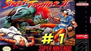 SNES: Street Fighter II The World Warrior! Part 1 - YoVideogames