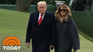 Melania Trump Makes First Comments On Capitol Hill Riot | TODAY